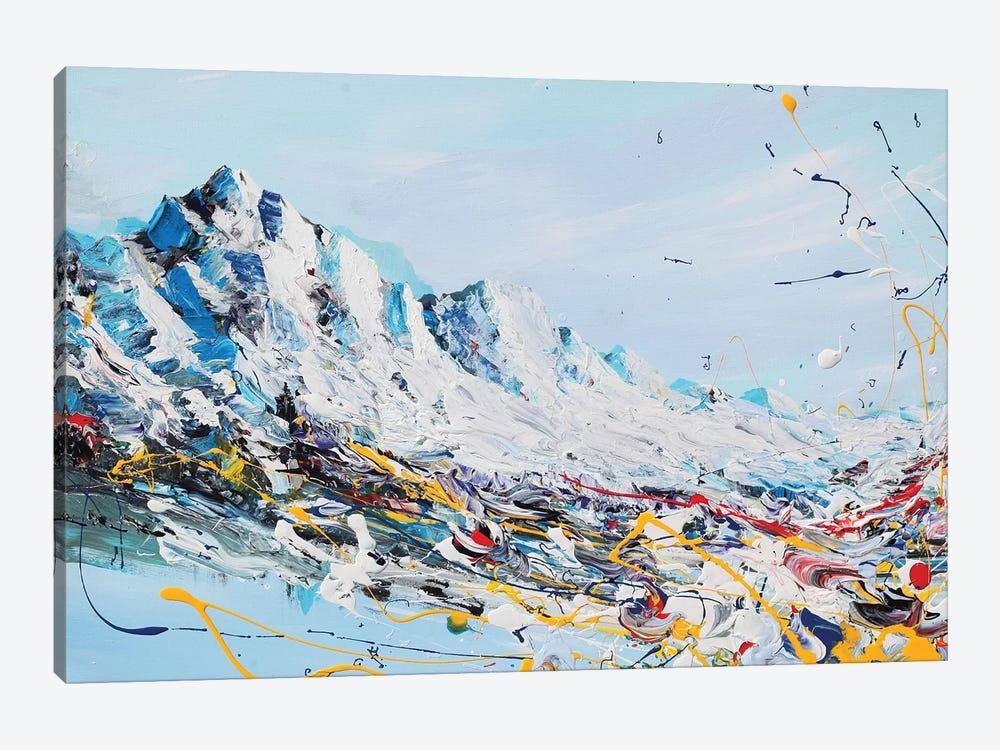 Mountain Fun by Piero Manrique 1-piece Canvas Print