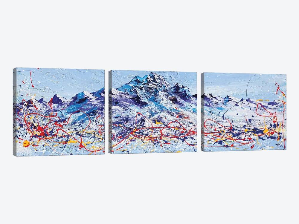 Mountain Majestic by Piero Manrique 3-piece Canvas Artwork