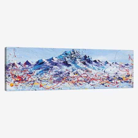 Mountain Majestic Canvas Print #PIE113} by Piero Manrique Canvas Art Print