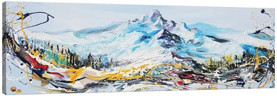 Mountain Peak Canvas Art Print