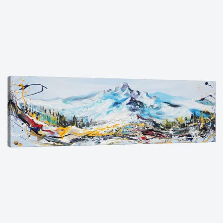 Mountain Peak Canvas Print #PIE114} by Piero Manrique Canvas Art