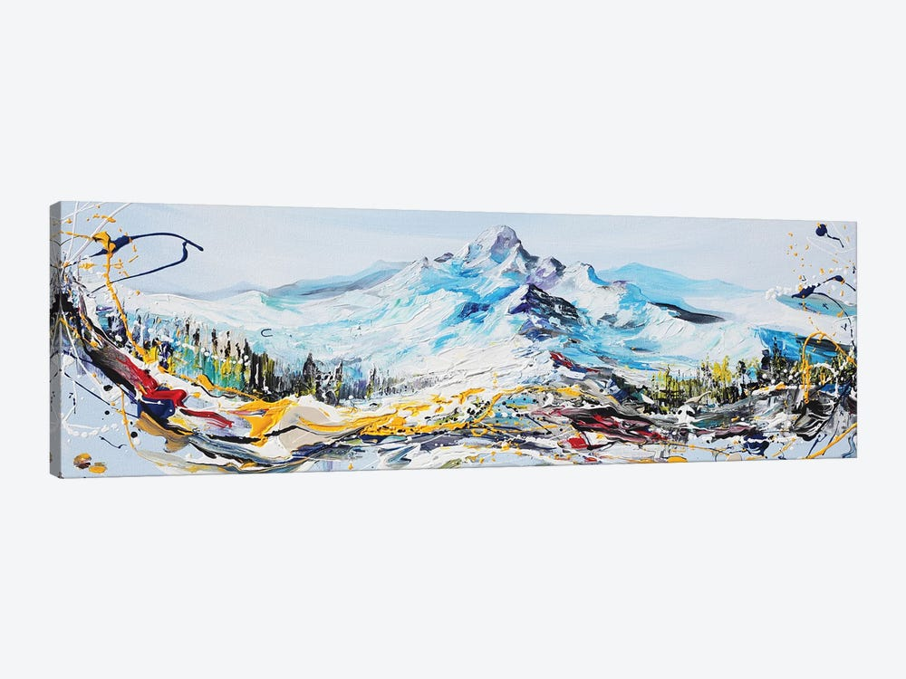 Mountain Peak by Piero Manrique 1-piece Art Print