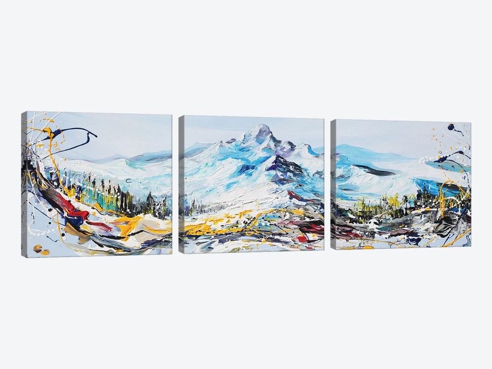 Mountain Peak by Piero Manrique 3-piece Canvas Print