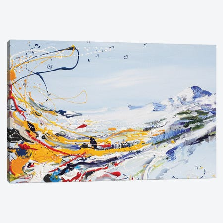 Mystical Mountain Canvas Print #PIE115} by Piero Manrique Canvas Art