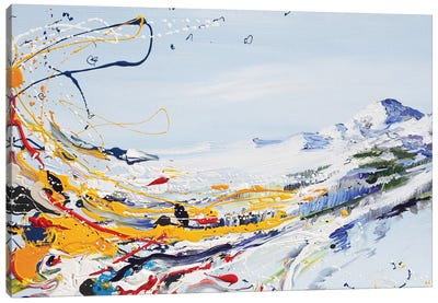 Mystical Mountain Canvas Art Print
