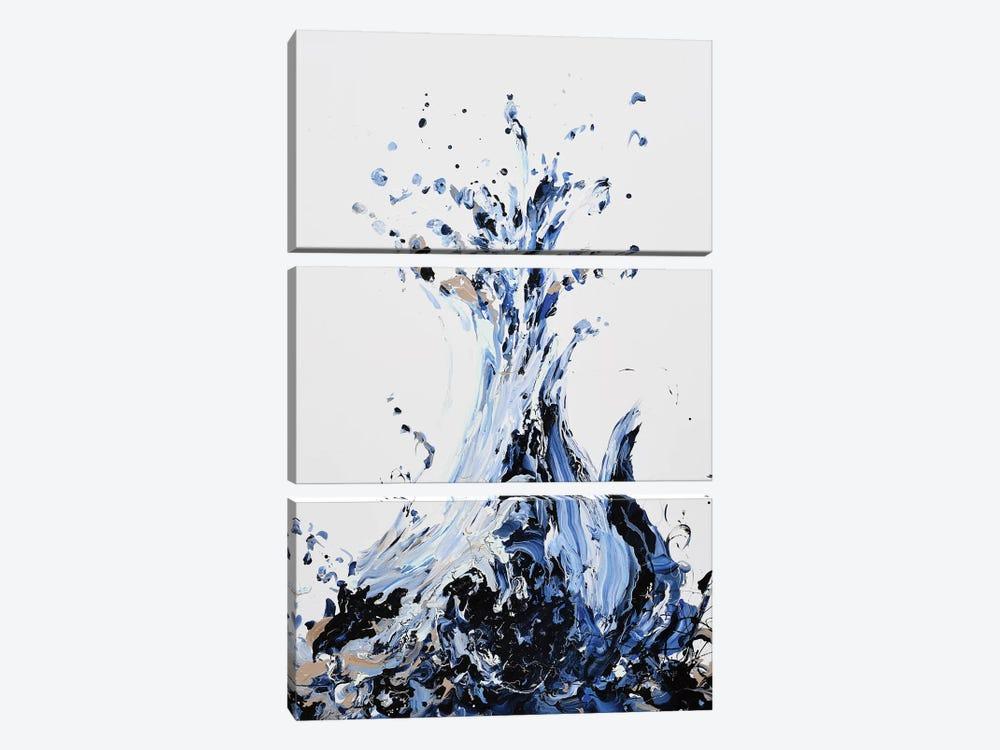 Splah by Piero Manrique 3-piece Canvas Wall Art