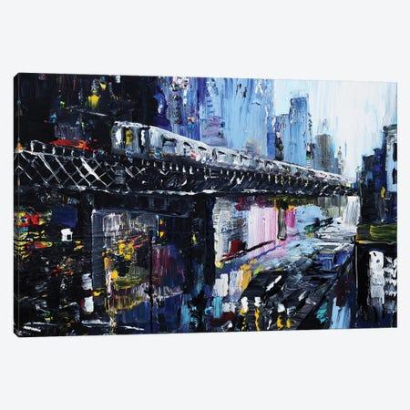 Subway Canvas Print #PIE118} by Piero Manrique Canvas Art Print