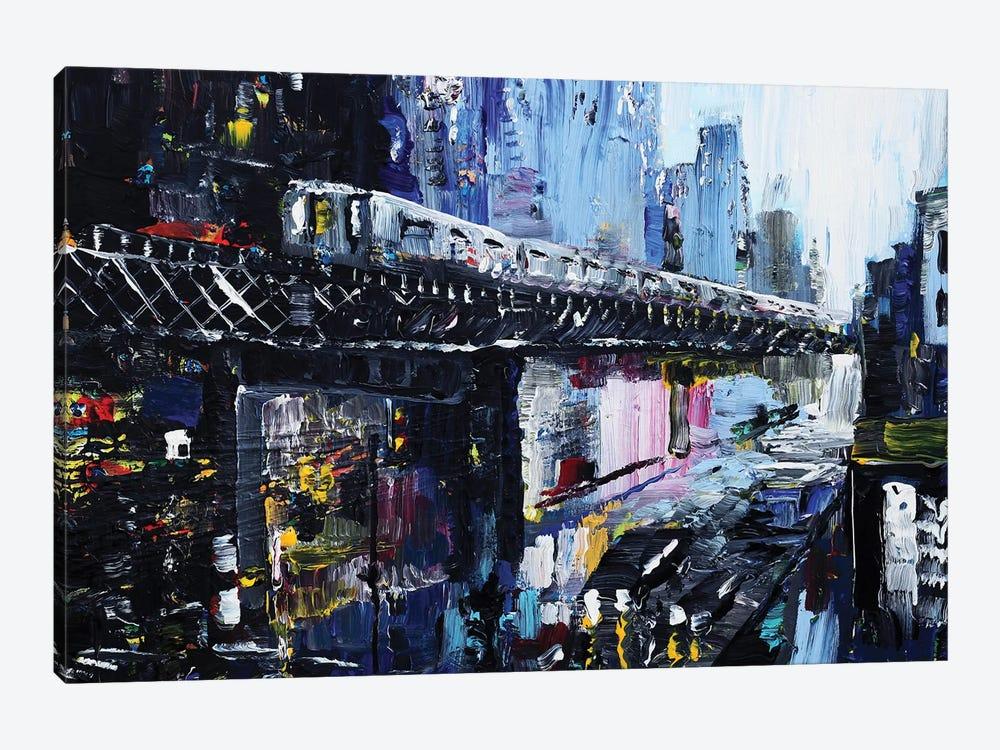 Subway by Piero Manrique 1-piece Canvas Art Print