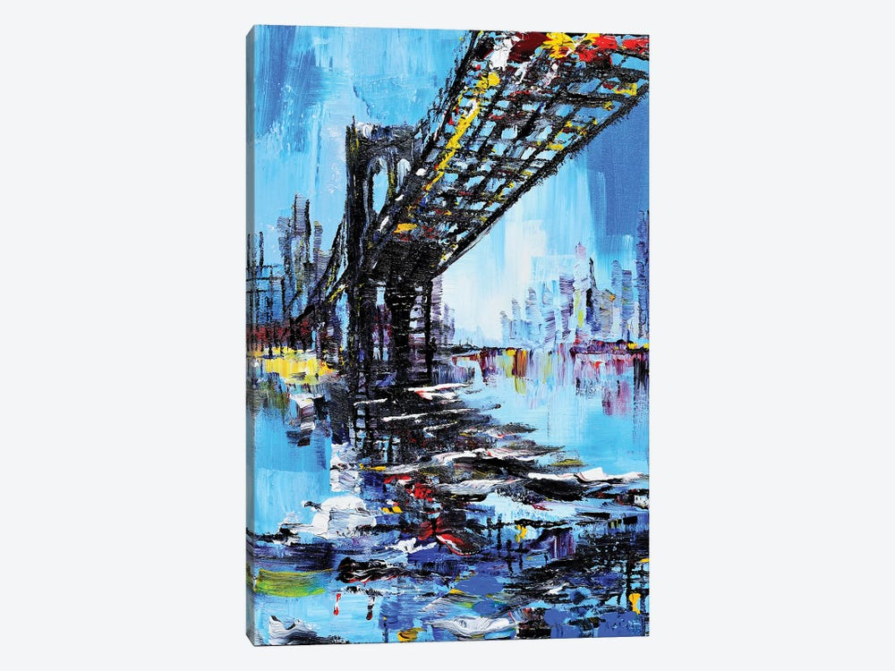 Tall Bridge 1-piece Canvas Artwork