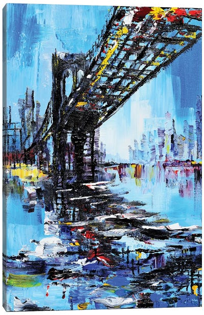 Tall Bridge Canvas Art Print