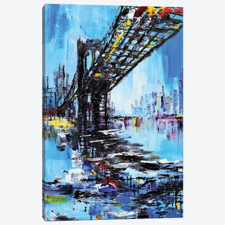 Tall Bridge Canvas Print #PIE119} by Piero Manrique Canvas Art Print