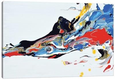 Cell's Movement Canvas Art Print