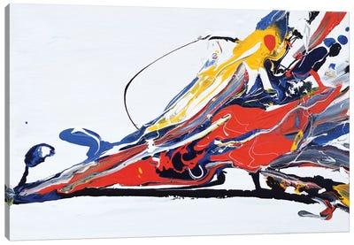 Color Splash Canvas Art Print