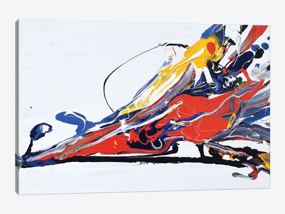 Color Splash by Piero Manrique 1-piece Canvas Art