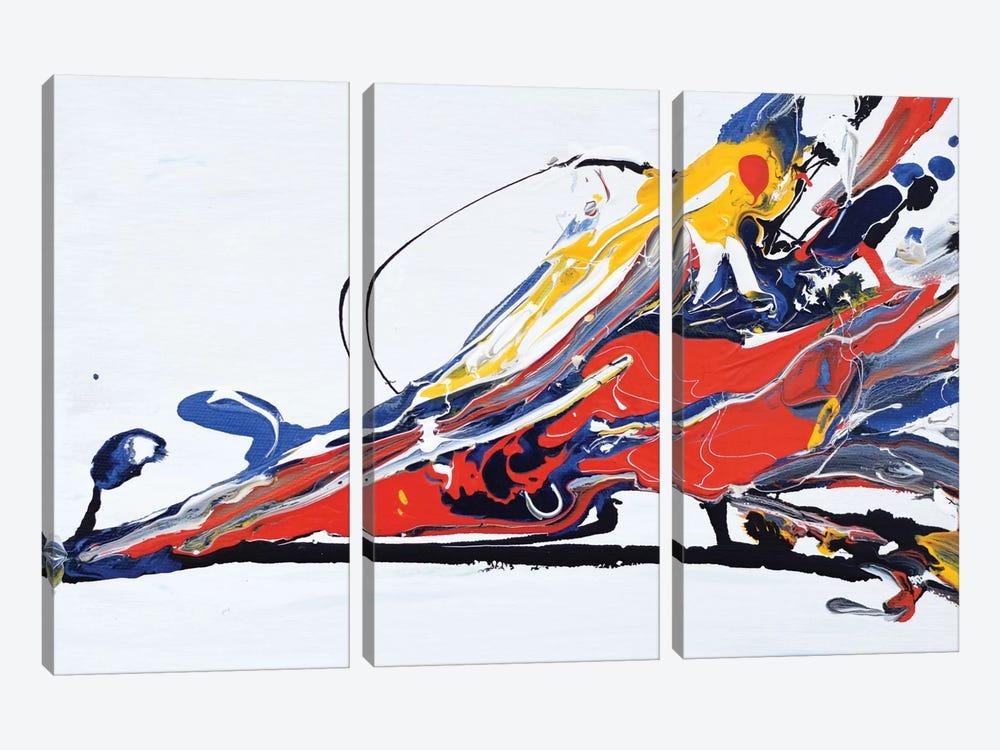 Color Splash by Piero Manrique 3-piece Canvas Art
