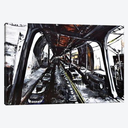 Ditmars Canvas Print #PIE18} by Piero Manrique Canvas Art Print