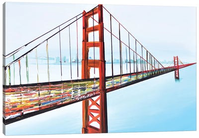 Golden Gate Bridge Canvas Print #PIE24