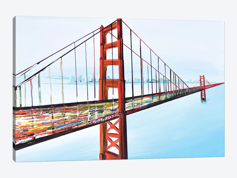 Golden Gate Bridge 1-piece Art Print