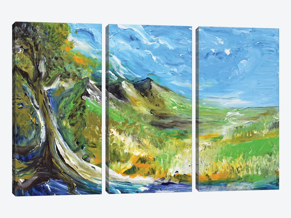 Great Afternoon by Piero Manrique 3-piece Canvas Artwork