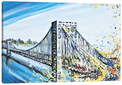 GW Bridge Canvas Art Print