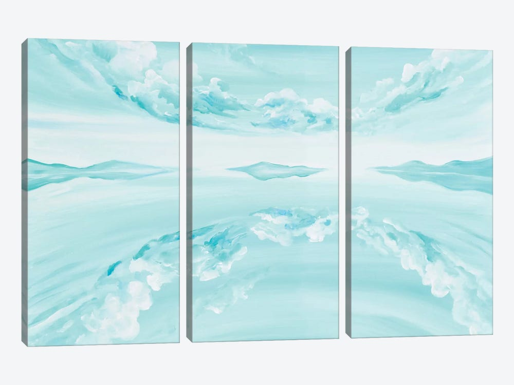 Mirror by Piero Manrique 3-piece Canvas Wall Art