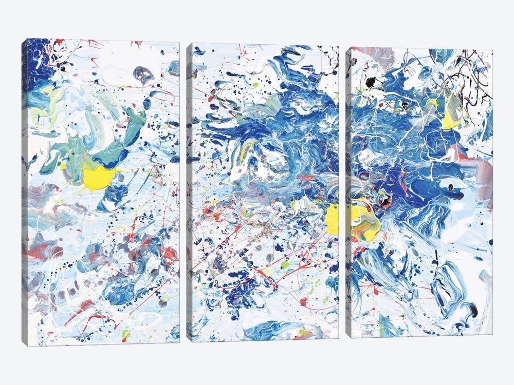Ocean Mist by Piero Manrique 3-piece Art Print