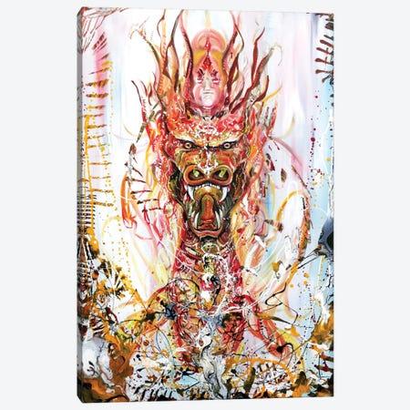 Riding Canvas Print #PIE44} by Piero Manrique Canvas Art Print