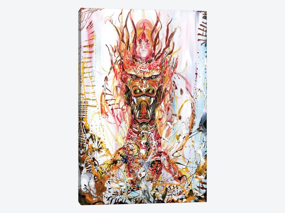 Riding by Piero Manrique 1-piece Canvas Art Print