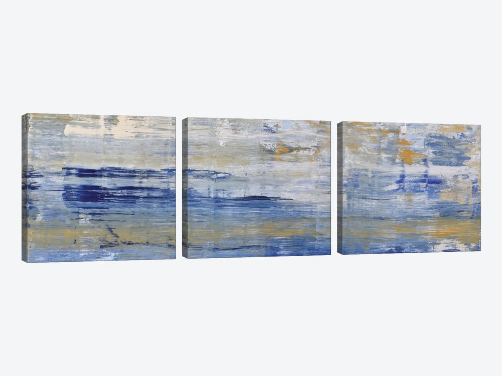 River by Piero Manrique 3-piece Canvas Wall Art