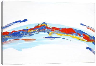 River Mountain Canvas Print #PIE46