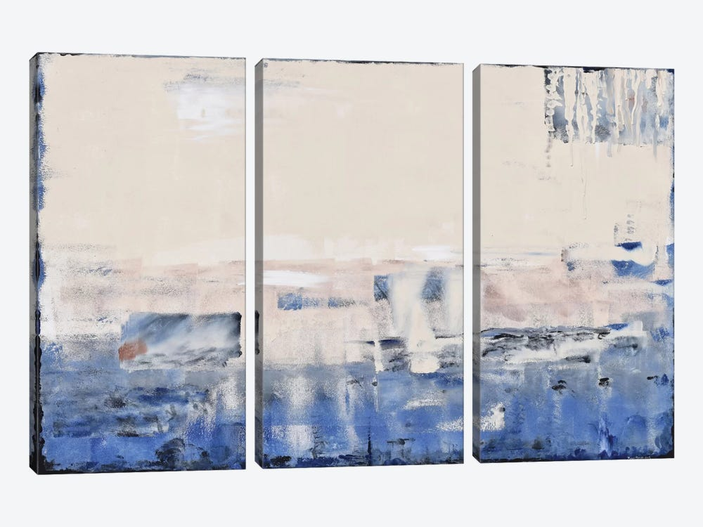 Sandbar by Piero Manrique 3-piece Canvas Art Print