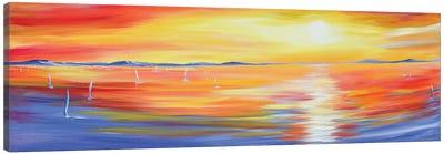 Sun Glow Canvas Art Print