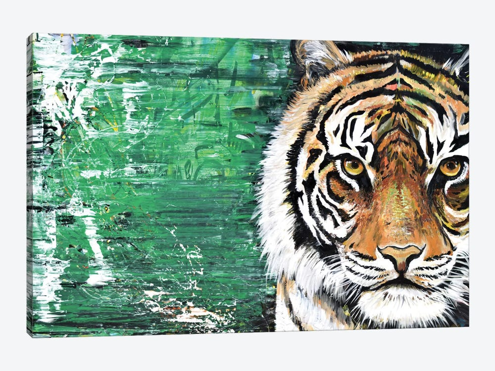 Tiger by Piero Manrique 1-piece Canvas Print