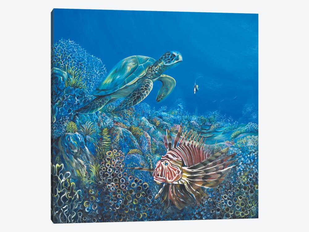 Blue by Piero Manrique 1-piece Art Print