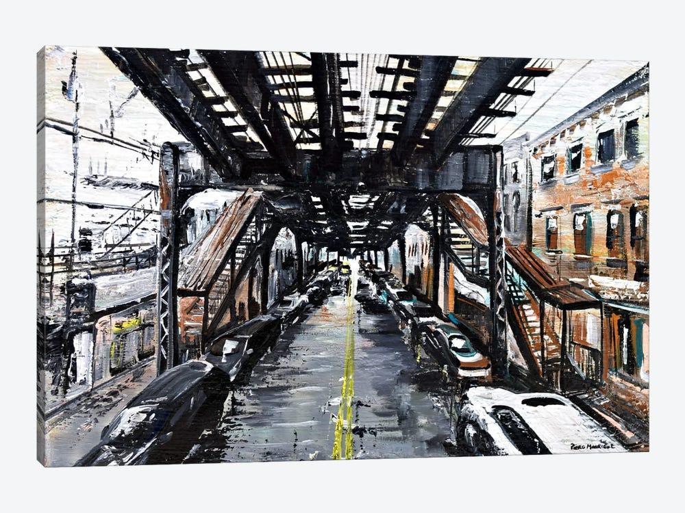Under The Train by Piero Manrique 1-piece Canvas Wall Art