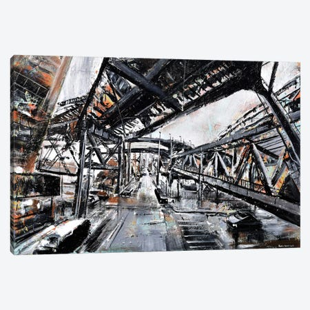 Urban View Canvas Print #PIE62} by Piero Manrique Canvas Art