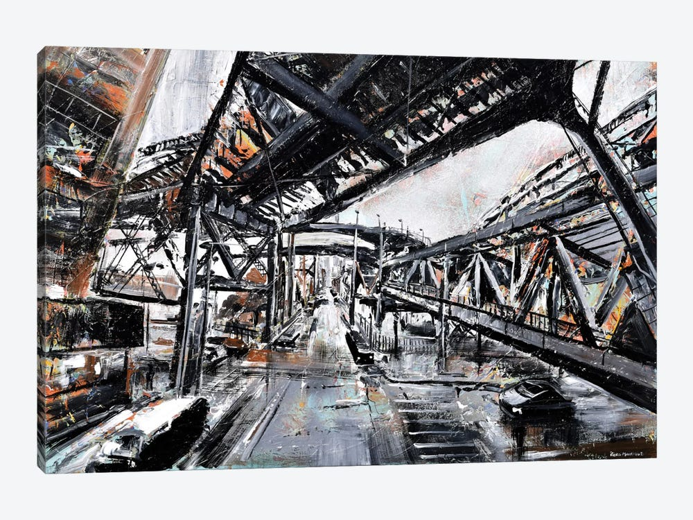 Urban View by Piero Manrique 1-piece Art Print