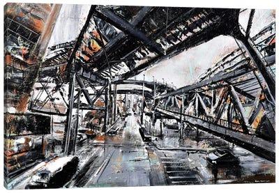 Urban View Canvas Art Print