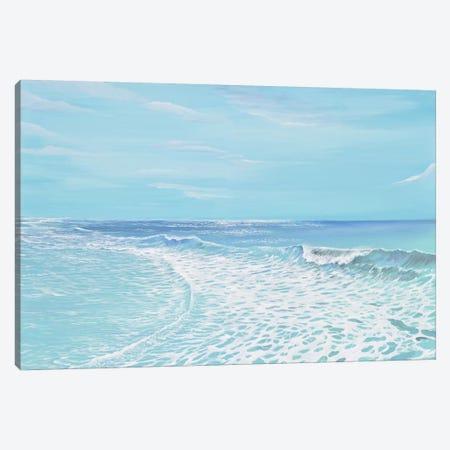 Vista Wave 3-Piece Canvas #PIE63} by Piero Manrique Canvas Art