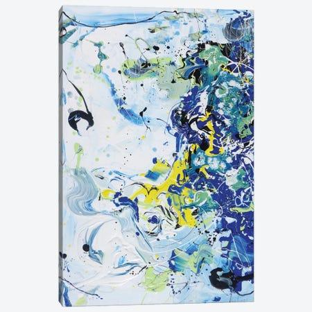 Wave Vibration Canvas Print #PIE67} by Piero Manrique Art Print