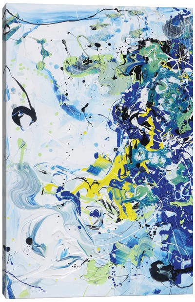 Wave Vibration Canvas Art Print