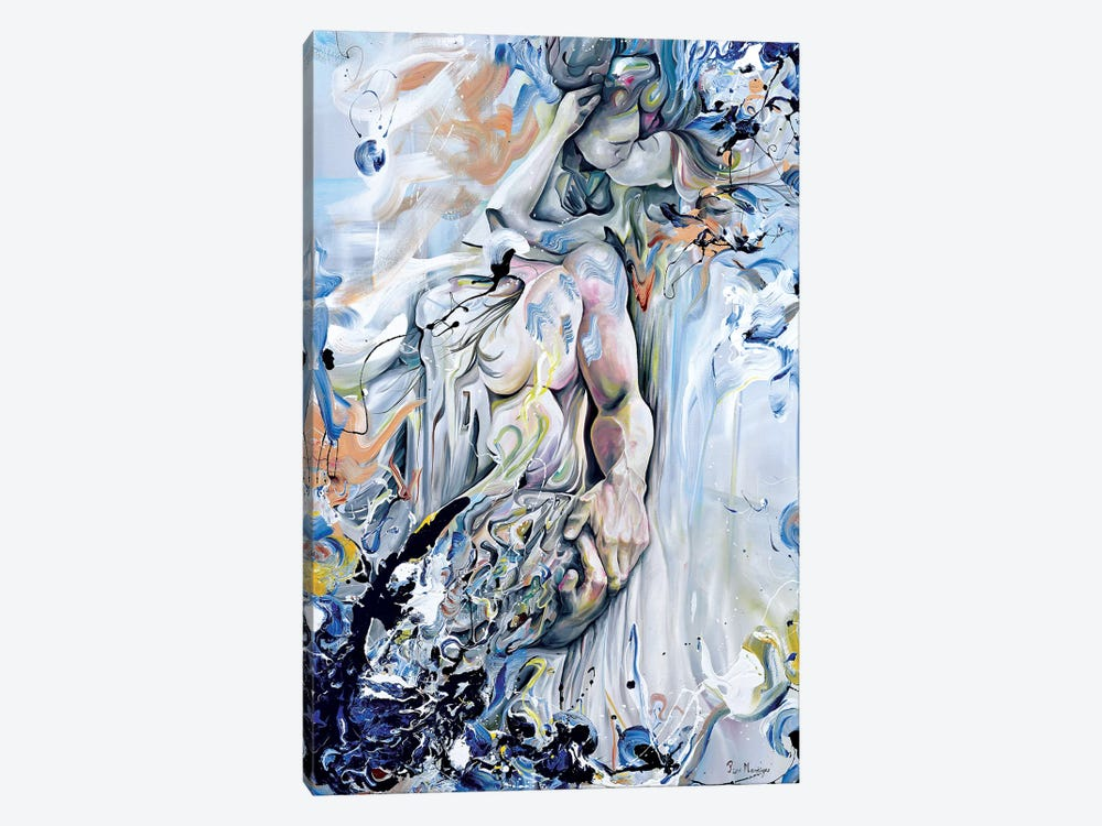Metalia by Piero Manrique 1-piece Canvas Wall Art