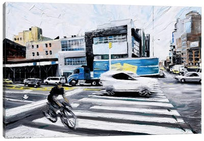 On The Road Canvas Print #PIE71
