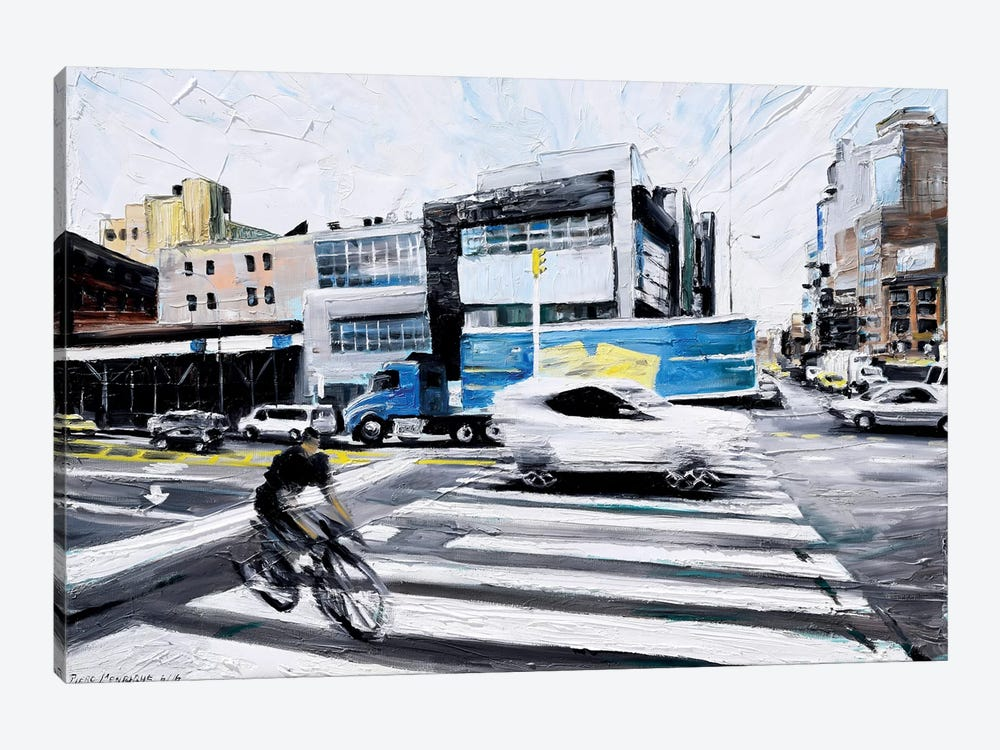 On The Road by Piero Manrique 1-piece Canvas Print