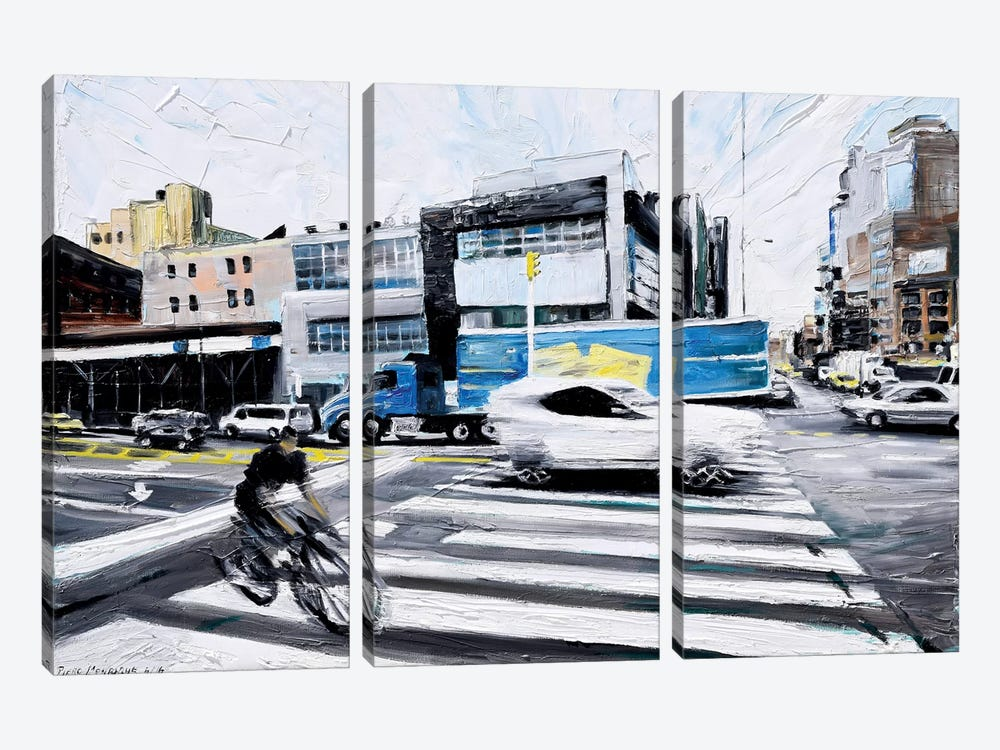 On The Road by Piero Manrique 3-piece Art Print