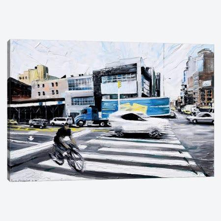 On The Road Canvas Print #PIE71} by Piero Manrique Canvas Print