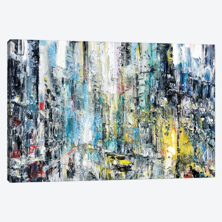 Rain & Light Canvas Print #PIE72} by Piero Manrique Art Print