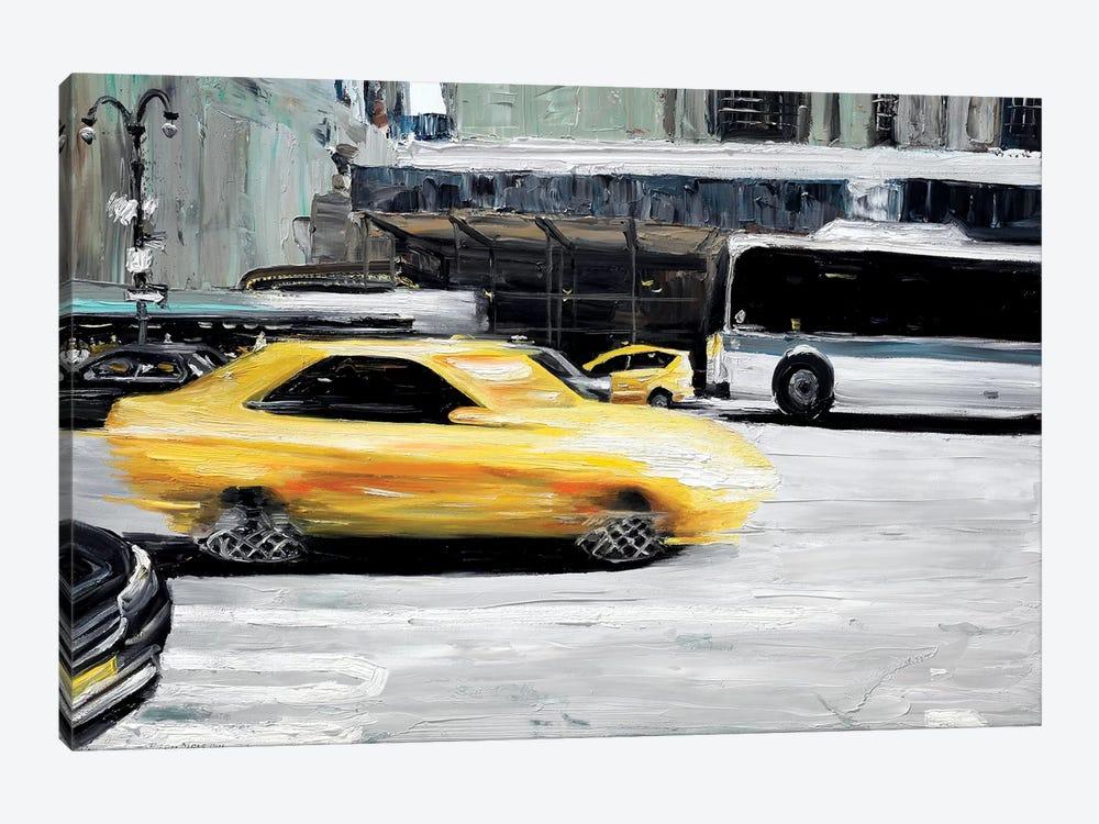 Speed by Piero Manrique 1-piece Canvas Wall Art