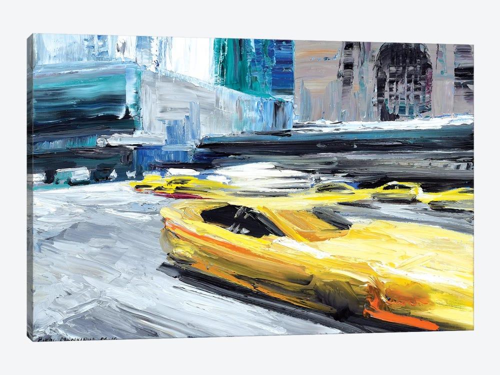 Taxi Ride by Piero Manrique 1-piece Canvas Artwork