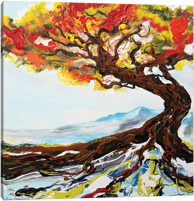 Arbol Canvas Art Print